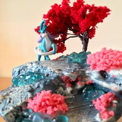 Pokemon Diorama shark-snail (10)