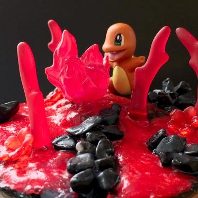 Pokemon Diorama shark-snail (2)